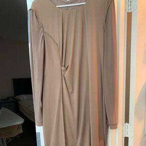 Calvin Klein 3/4 Sleeve Ruched dress
